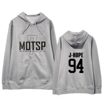 Kpop BTS Sweatshirt Bangtan Boys Album MAP OF THE SOUL 7 Hooded Sweatshirt V SUGA JIN