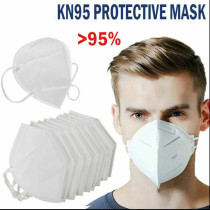 5Pcs Filter 95%  KN95 Anti-virus Face Mask Dust Proof Respirator Protection Mask