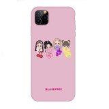 Kpop Blackpink Phone Case Anti-fall Protective Cover for Apple iphone11 / XS / XR Hard Shell LISA ROSE JENNIE JISOO