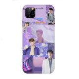 Kpop SE HUN Same Phone Case Anti-fall Protective Cover for Apple iphone11 / XS / XR Hard Shell