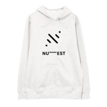 Kpop NU'EST SEVENTEEN Keep social distance Promote Sweater Korean version Loose Hooded Sweater S.COUPS JEONGHAN JOSHUA