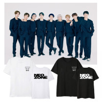 Kpop NCT127 T-shirt 2nd series NCT 127 NeoZone Short Sleeve T-shirt Printed Bottoming Shirt Short Sleeve