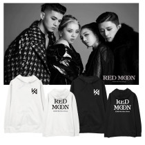 Kpop KARD Sweater New Album RED MOON Hooded Sweater Plus Velvet Thin Coat Sweatershirt