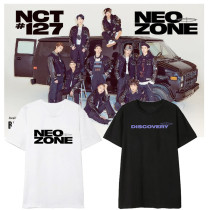 Kpop NCT T-shirt Return Short Sleeve Same T-shirt Korean Version Loose all-match Top T-shirt