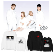 Kpop KARD Sweater 2020 Concert Round Neck Sweater Sweater pullover Jacket Hoodie  Sweatershirt