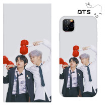 Kpop BTS Phone Case Bangtan Boys Protective Cover for iphone11/XS/XR anti-fall Hard Shell