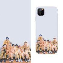 Kpop BTS Phone Case Bangtan Boys 2020 Photo Protective Cover for iphone11/XS/XR Hard Shell