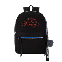 Kpop Red velvet School Bag Casual Shoulder Backpack Canvas Bag Hong Kong Style Wild Casual Simple Travel Bag