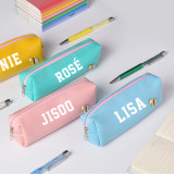 Kpop BLACKPINK Pencil Case LISA New Album How You Like That Pencil Case Storage Bag Stationery Bag