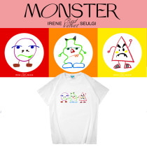Kpop Red Velvet Squad Album Monster Periphery Short Sleeve T-shirt Korean Loose Bottoming Shirt Short Sleeve