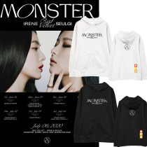 Kpop Red Velvet squad Sweater Album MONSTER Around the Hooded Sweater Sweatshirt Irene Kang Seul