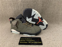 Authentic Jordan 6 Travis Scott Kids size