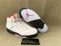 Authentic Air Jordan 5S Fire Red