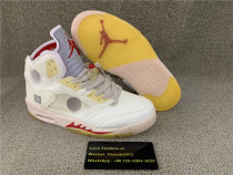 Authentic Air Jordan Off White 5S OW