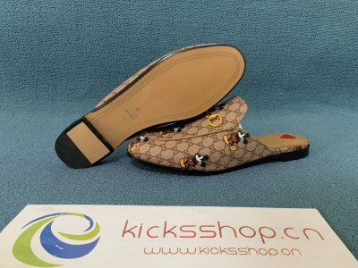 Princetown leather slipper with Disney