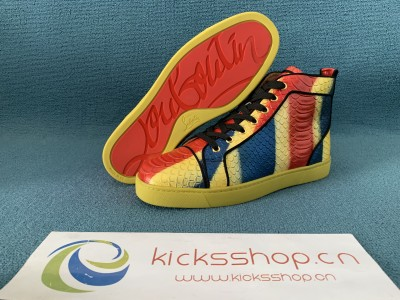 Authentic Christian Louboutin High Top (130)