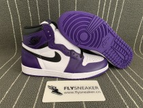 "Authentic Air Jordan 1s ""Court Purple"""