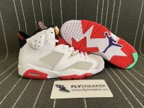 "Authentic Air Jordan 6s ""Hare"""