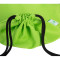 HOLYLUCK Men & Women Sport Gym Sack Drawstring Backpack Bag green, DHL free shipping to USA