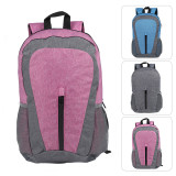 Lightweight Sport Backpack Packable Hiking Daypack Foldable Small Travel Camping Bicycle Canvas Bag for Women Men (Fuchsia)