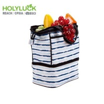 Double Compartments Personalized Cooler Bag Sport Large Tote Bag For Camping Travel