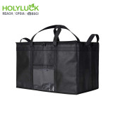High Quality Food Delivery Bag Insulated Bike Delivery bag For Uber Eats With Strong Zipper