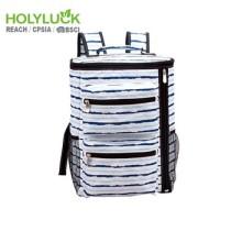 Lightweight Leakproof Water Bottle Picnic Cooler Bag Soft Foldable Backpack Cooler