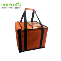 Commercial Price Pizza Carrying Bag Insulated Hot Bag For Food Delivery With Kiss Lock