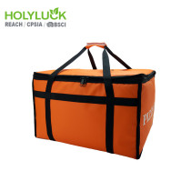 Ultimate Foodservice Takeaway Delivery Bag Orange Tarpaulin Insulated Pizza Bag