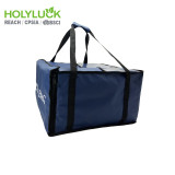 Holy Luck New In Insulated Pizza Bag Recycled Blue Color Food Delivery Bag With Custom Logo