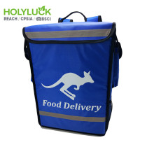 Customer Style Thermal Food Delivery Bag Bike Uber Eats Delivery Grocery Bag