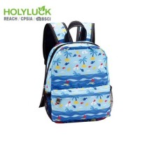 Waterproof School Lunch Bag Eco Friendly Kids Cooler Bag With Mesh Bottle Pocket