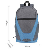 HOLY LUCK Lightweight Sport Backpack Packable Hiking Daypack Foldable Small Travel Camping Bicycle Canvas Bag for Women Men (Grey)