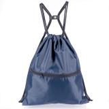 Mixed colors order HOLYLUCK Gym Sack Bag Drawstring Backpack Sport Bag for Men & Women Sackpack