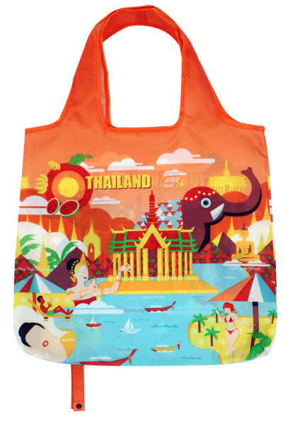 No Plastic Foldable Eco-Friendly Shopping Bag The Ultimate Grocery Bag Tote Bag