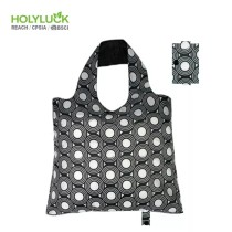 Recycled Polyester Foldable Shopping Tote Bag Grocery Supermarket Bag