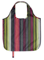 Plastic Free Eco Friendly Recycled Strip Shopping Bag Portable Ultimate Reusable Grocery Bag