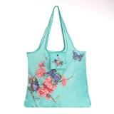 Stylish Eco Foldable Shopping Bag Zero Waste Grocery Tote Bag For Machine Washable