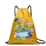 Copy HOLYLUCK Men & Women Sport Gym Sack Drawstring Backpack Bag