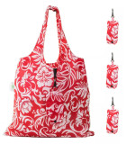 HOLYLUCK Reusable Grocery Bags,Heavy Duty Foldable Shopping Tote Bag, Holds Up To 42 lbs,DHL free shipping to USA-Peony