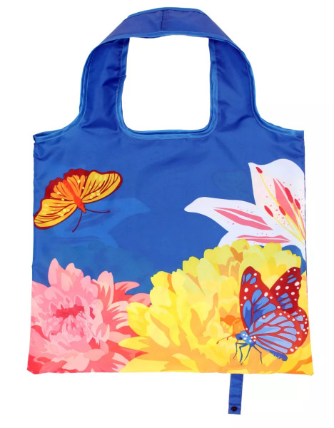 Custom Print Eco Friendly Poly Bag Collapsible Shopping Bag Tote Bag Best For Outdoor Supermarket