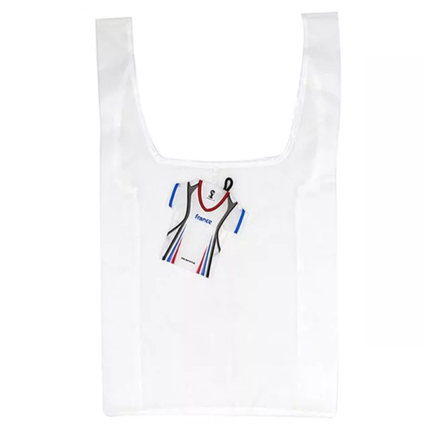 HOLY LUCK RPET T-shirt Shape Foldable Polyester Shopping Bag