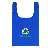 Green Idea Rpet Fabric Made Recycled Shopping Bag Pretty Soft Grocery Bag For Outdoor