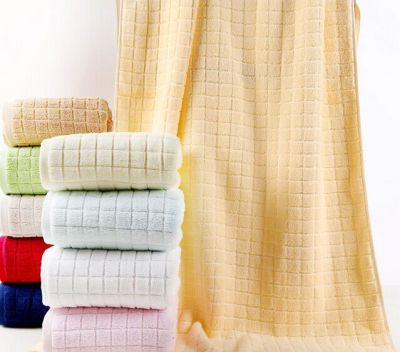 70x140 - Grid Premium Bath Towel