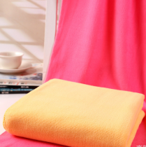 70x140 - High Quality Yellow Fiber Bath Towel