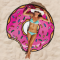 New Chiffon Donuts Style Beach Towels