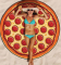 New Chiffon Pizza Style Beach Towels