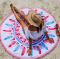 150x150 - Printed Round Beach Towels withTassel