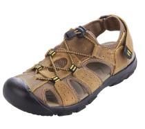 NEOKER Men's Sports Sandals Outdoor Leisure Trekking Shoes Brown