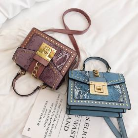2019 Design Handbags High Quality Ladies Shoulder Women PU Leather Zip Lock Small Chains  Flap Bags